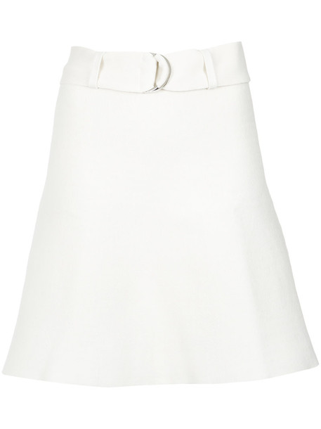 EGREY skirt women spandex white