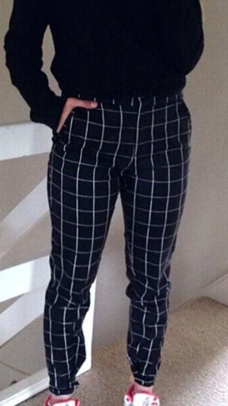 jeans pants stripes gingham checkered tight bottoms