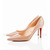 Nude Christian Louboutin New Decoltissimo 85mm Pointed Pumps Red Sole Shoes