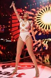 underwear,tight,white,straps,bodysuit,high waisted,criss cross