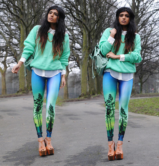 leggings printed leggings