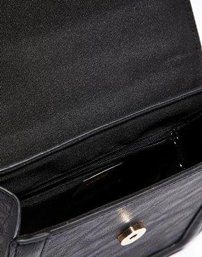 ASOS | ASOS Cross Body Bag with Sleek Curb Chain at ASOS