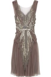brown dress,gold sequins,sparkle,sheer,vintage,casual,chic,classy,fashion,prom,lovely,skirt,gorgeous,jenny packham,dusty pink,dress,taupe,prom dress,vintage dress,sparkly dress,gold,sequins,the great gatsby,1920s dress,style,pinterest,boho dress,taupe beaded vintage dresss,sequin dress