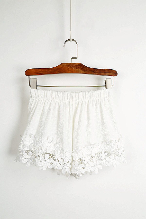 lace shorts short ebonylace.storenvy shorts