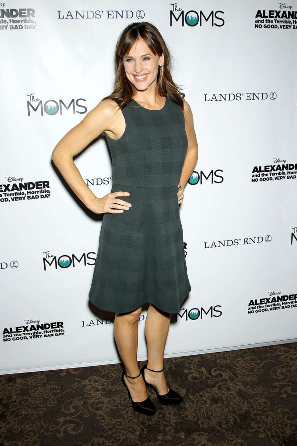 dress green dress Jennifer Garner