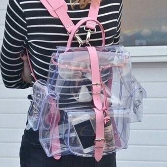 bag transparent  bag