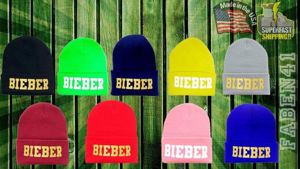 Bieber Justin Believe Swaggy Bieber Fever Newest Design Winter Beanie   eBay