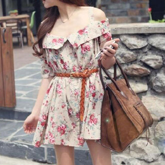 dress floral print short sleeve off shoulder mini slip dress floral print short sleeve off shoulder mini slip dre shoulder mini slip dress short sleeve off
