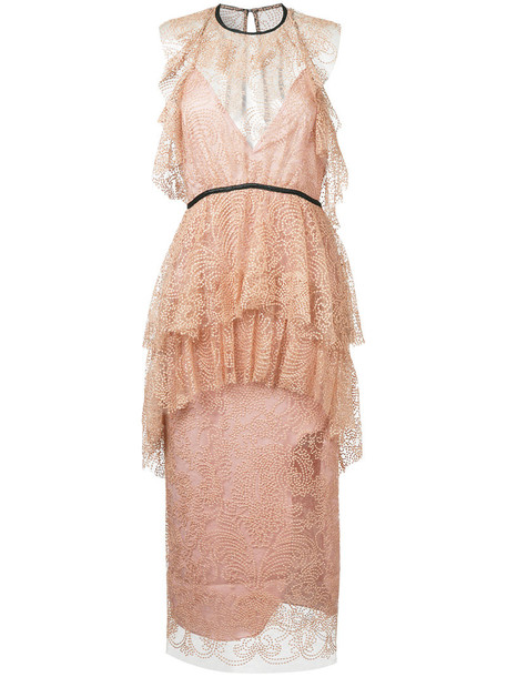 Alice McCall dress ocean metallic women purple pink