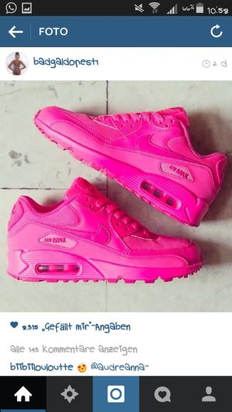 pink shoes nike air rosa nike airmax