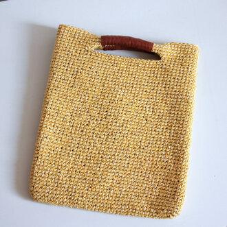 bag raffia bag raffia tote summer holidays crochet bag yellow bag top handle bag straw bag etsy etsy shopping summer etsy store
