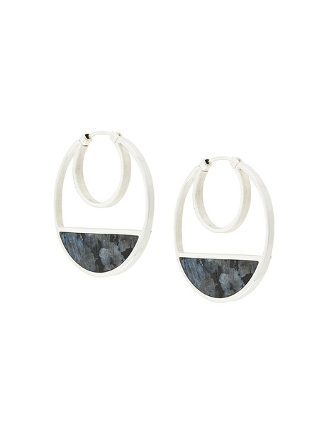 Monica Sordo women baby earrings gold silver grey jewels