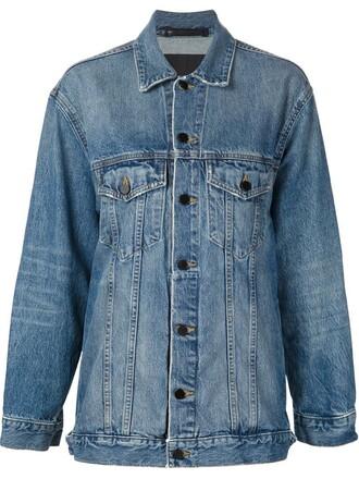 jacket denim jacket denim women cotton blue