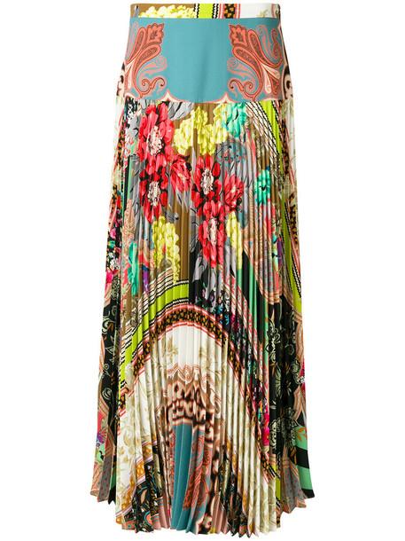 ETRO skirt pleated skirt pleated women spandex print