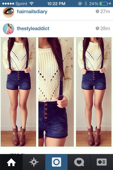 sweater cute i want it so bad ! please find it pleaseeee i love this white soft shorts