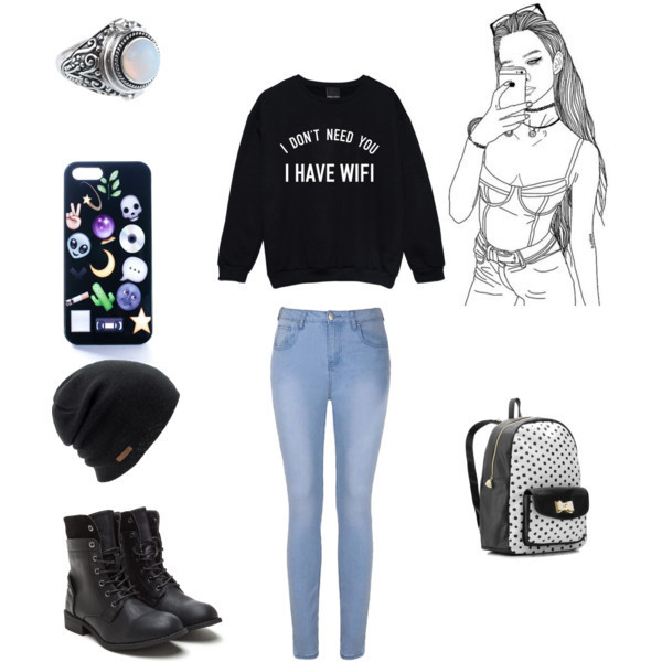 I Don 39 T Need You I Have Wifi Jumper Sweater Tumblr Fashion Funny Top Fangirl