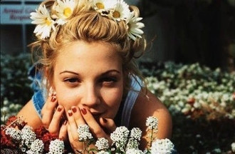 headband daisy head flowers hair accessory festival drew barrymore hair adornments nature sunflower pretty floral headband flower headband