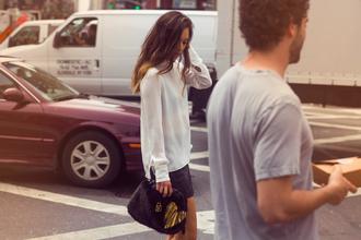 fashion toast skirt bag shirt
