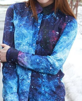 blouse cosmos space