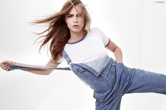 jeans cara delevingne shirt t-shirt tank top