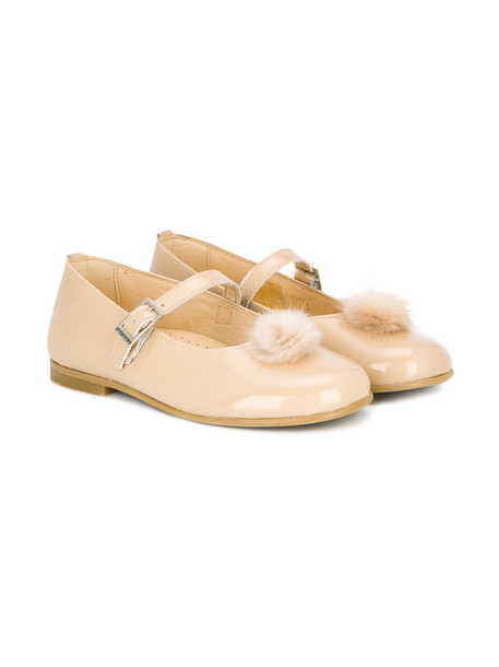 Andanines Shoes shoes leather nude