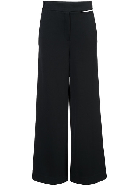 Balossa White Shirt women spandex black pants