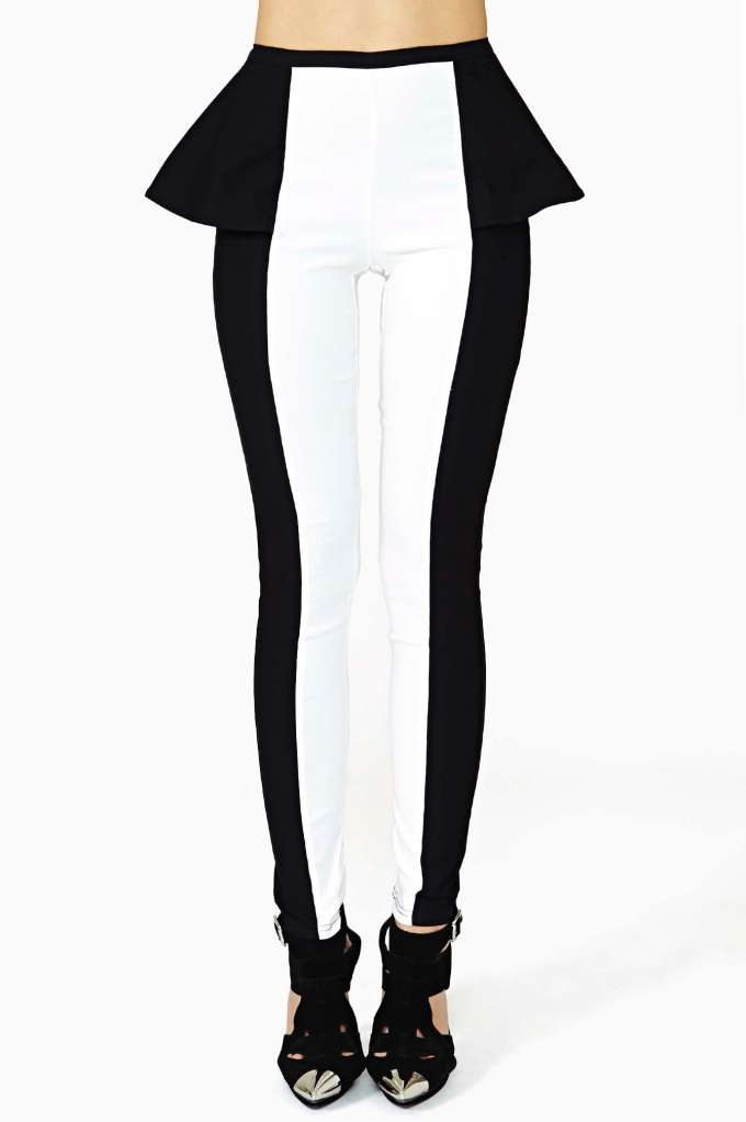 Trance Peplum Pant | Shop Clothes at Nasty Gal