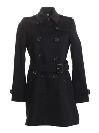 coat black wool