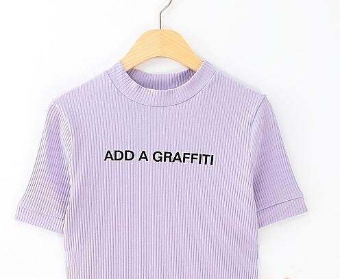 The add a graffiti top