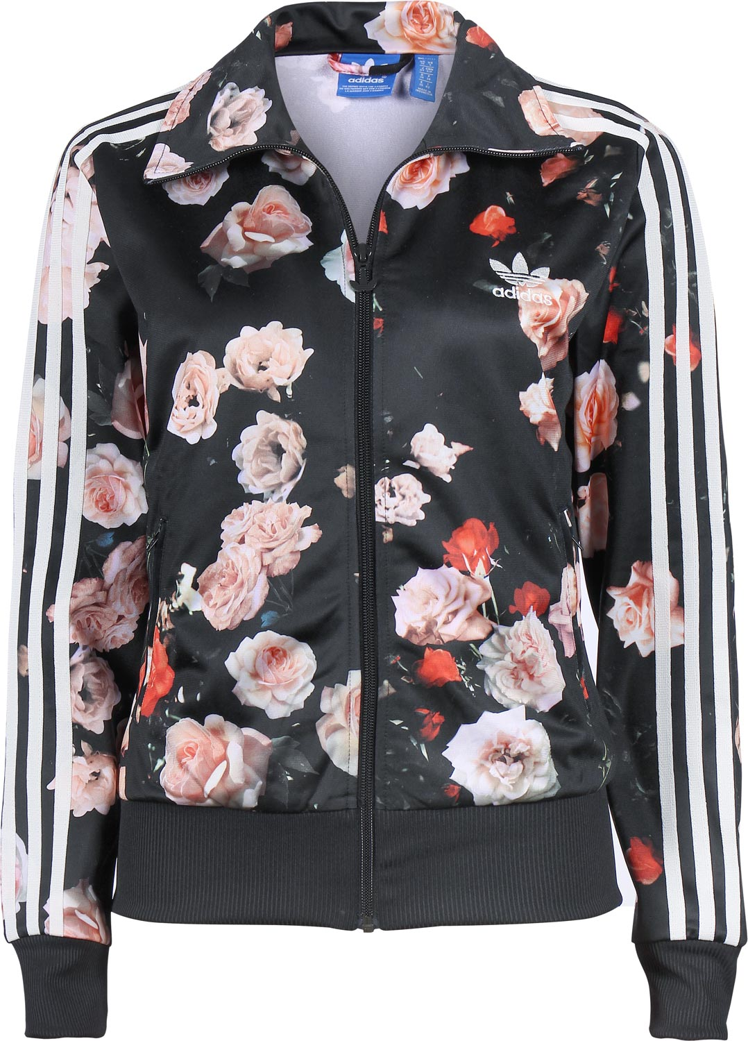 Adidas Firebird TT W jacket black/rose