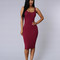 Dolly dress - burgundy | fashion nova
