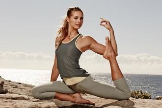 leggings khaki yoga pants yoga