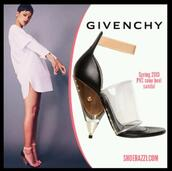 shoes,rihanna,givenchy heels,heels,transparent