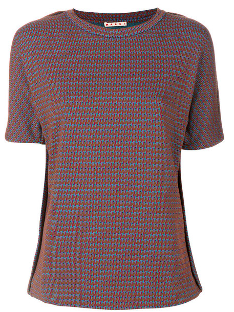 MARNI t-shirt shirt t-shirt women wool top