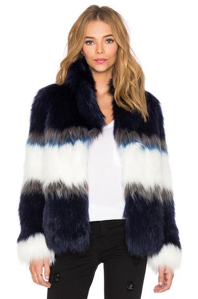 jacket faux fur jacket fur jacket fur faux fur blue