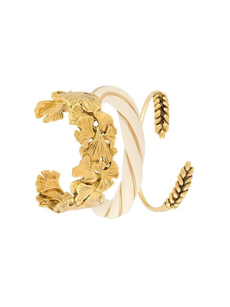 women bracelets gold grey metallic jewels
