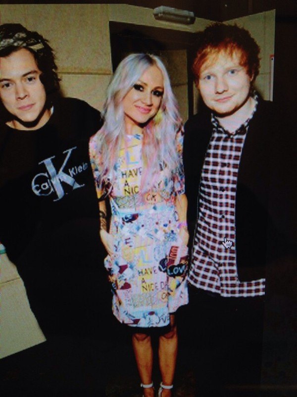 dress lou teasdale pattern quote on it ed sheeran harry styles