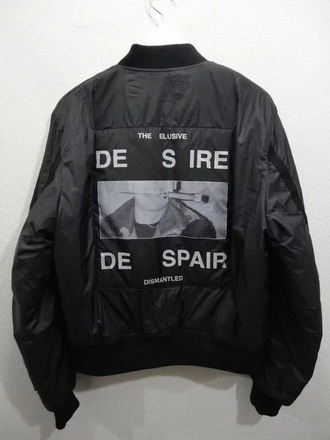 jacket leather bomber jacket patch internet tumblr pale soft grunge minimalist aesthetic