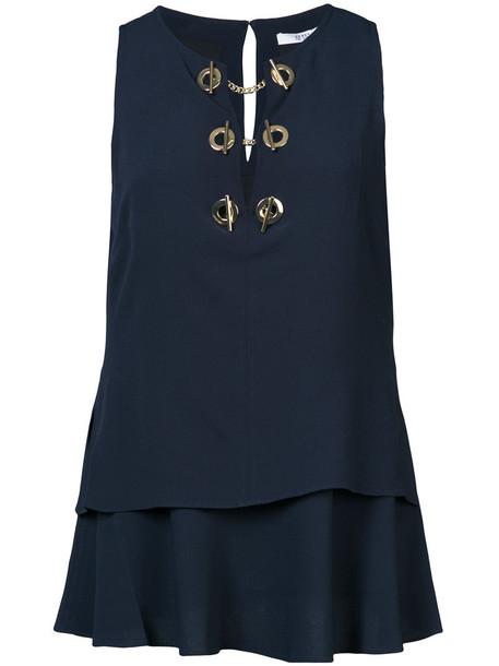 top sleeveless top sleeveless women black silk