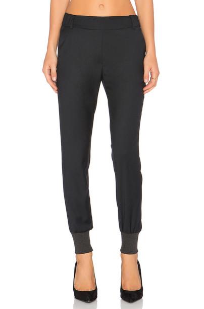 James Jeans pants track pants black