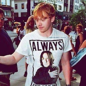 shirt rupert grint harry potter severus snape