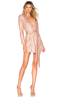 NBD x Naven Belle Dress in Light Champagne Pink from Revolve.com