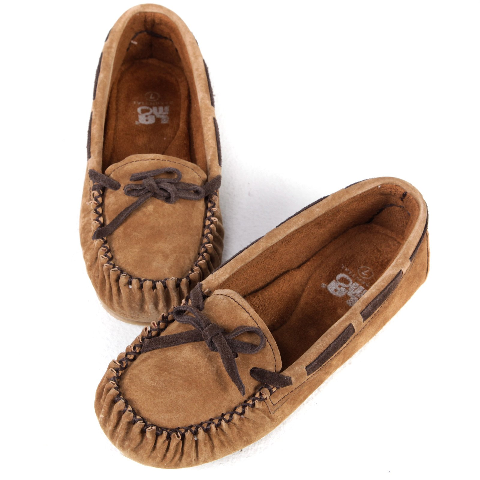 Lamo Womens Sabrina Moccasin - Chestnut - Womens Moccasins at Moccasins