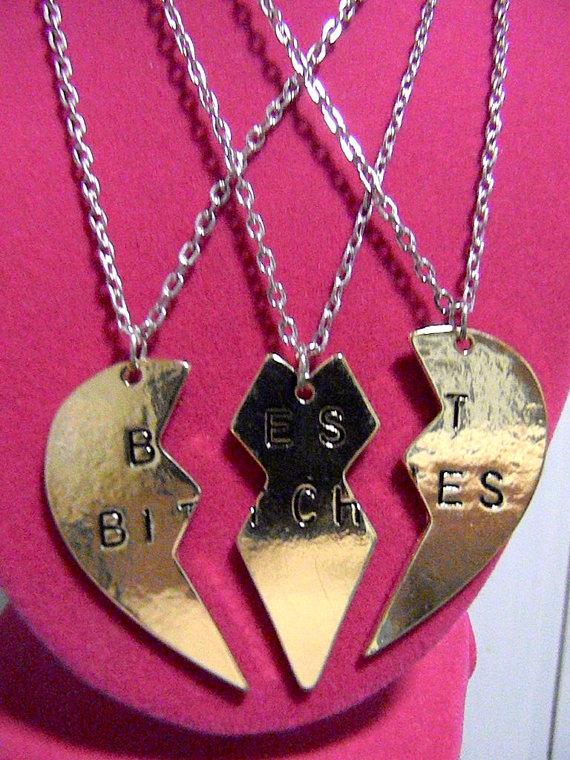 Migliori femmine argento ottone collana di sweetvixenboutique