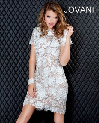 dress floral lace dress party dress prom dress style scrapbook formal dress