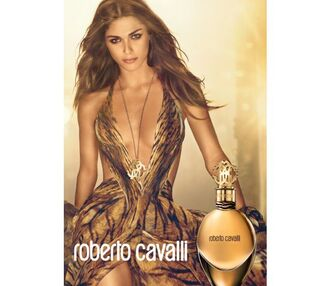 dress tiger long dress perfume