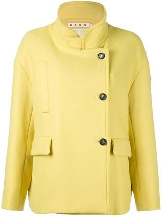 jacket yellow orange