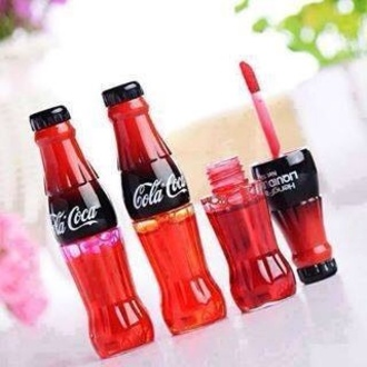 jewels lip gloss make up makeup colour outfit cola coca cola drink cool summer outfits red lipstick gloss lip cute funny coca good cherry style kiss nail polish coca cola lipgloss lip tint make-up pink coke bag coca-cola orange small liquid