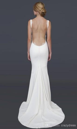 dress white backless prom long prom dress backless prom dress open back dresses satin white dress