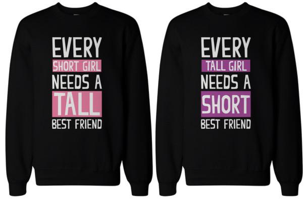 Best Friend Sweatshirts October 2017